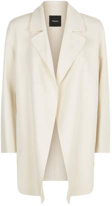 Theory Clairene Wool-Cashmere Coat