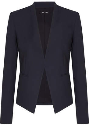 Theory - Stretch-wool Twill Blazer - Navy $395 thestylecure.com