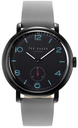 Ted Baker Men's Harry Leather Strap Watch, 40mm