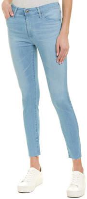 AG Jeans The Farrah Azure Skies High-Rise Skinny Crop