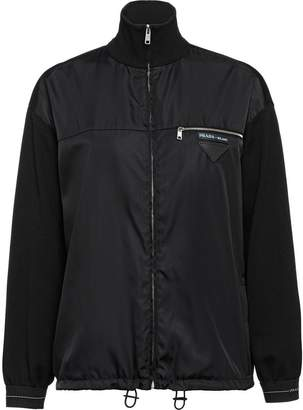 Prada Wool, viscose and nylon jacket