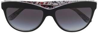 Burberry Eyewear printed cat-eye sunglasses