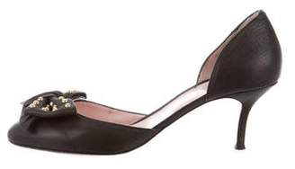 RED Valentino d'Orsay Bow Pumps