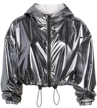 Ivy Park Metallic Crop Jacket