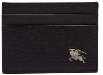 Burberry London Leather Cardholder - Mens - Black