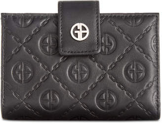 Giani Bernini Logo Embossed Index Wallet, Created for Macy's