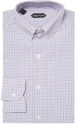 Tom Ford Checkered Dress Shirt