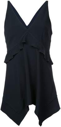 Derek Lam 10 Crosby Cami with Ruffle Detail