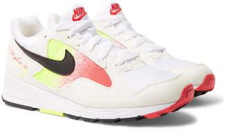 Nike Skylon Ii Felt And Mesh Sneakers