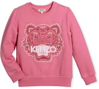Kenzo Bubble Beads Tiger Sweatshirt, Size 14-16