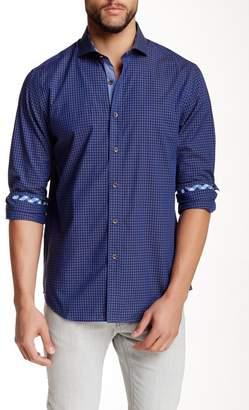 James Tattersall St. Ives Deep Tone Check Modern Fit Shirt
