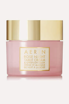 AERIN Beauty - Rose Night Table Cream And Overnight Mask - Colorless