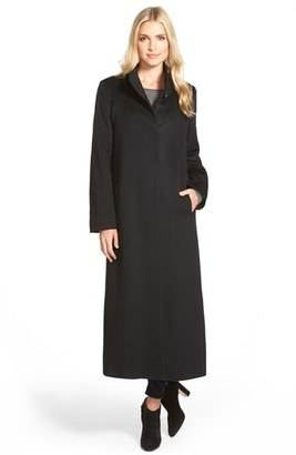 Women's Fleurette Long Wool Coat $1,335 thestylecure.com