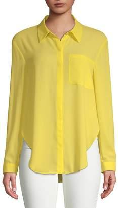 T Tahari Women's Jazzie Long-Sleeve Blouse