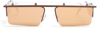 LE SPECS X Adam Selman The Flex sunglasses $77 thestylecure.com