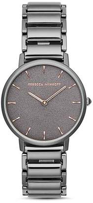 Rebecca Minkoff Major Sandblasted Dial Watch, 35mm