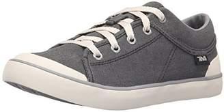 Teva Womens W Freewheel Washed Canvas Sneaker