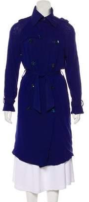 Jean Paul Gaultier Soleil Long Sleeve Lightweight Trench Coat