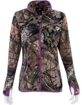 Mossy Oak Women's Full Zip Fleece Jacket, Patterns