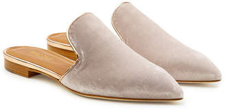 Malone Souliers by Roy Luwolt Marianne Velvet Slip-On Loafers
