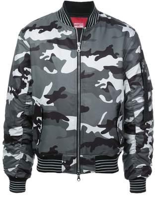Mostly Heard Rarely Seen 8-Bit blinky pinky inky bomber jacket