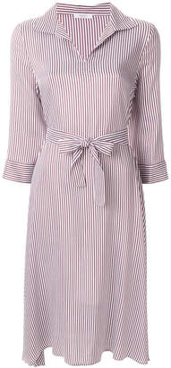 Peserico striped belted dress