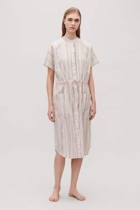Cos SHORT-SLEEVED COTTON TUNIC