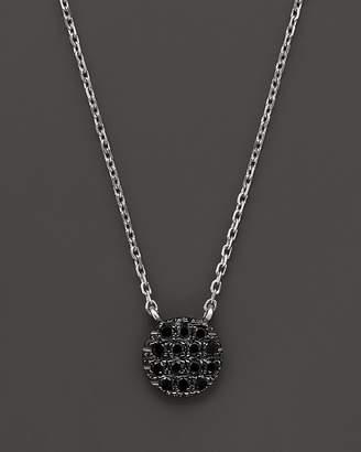 "Black Diamond Dana Rebecca Designs Lauren Joy Mini Necklace in 14K Black Rhodium on 14K White Gold Chain, 16"""