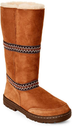 UGG Chestnut Sundance Revival Real Fur Boots
