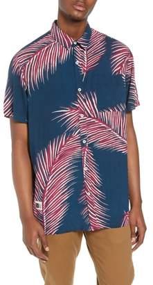 LIRA Giant Palms Woven Shirt