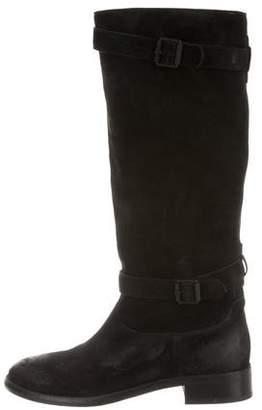 Belstaff Suede Knee-High Boots