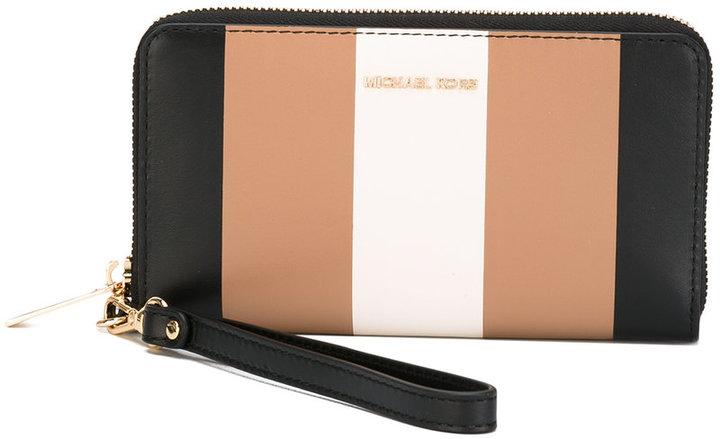 MICHAEL Michael KorsMichael Kors striped Jet Set wallet