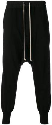 Rick Owens loose fit track trousers