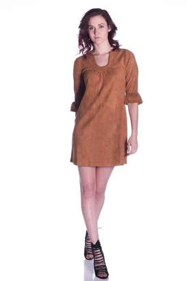 Aryeh Suede Shift Dress
