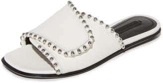 Alexander Wang Leidy Sandals $550 thestylecure.com