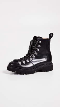 Grenson Nanette Combat Boots