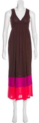 Diane von Furstenberg Kiwana Long Sleeveless Maxi Dress