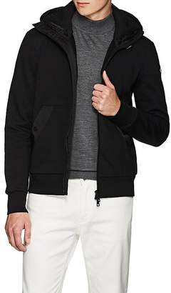 Moncler Men's Double-Hood Cotton Cardigan Jacket