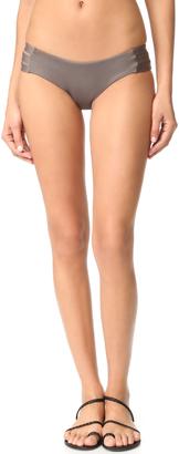 Vitamin A Emelia Triple Strap Bikini Bottoms $99 thestylecure.com