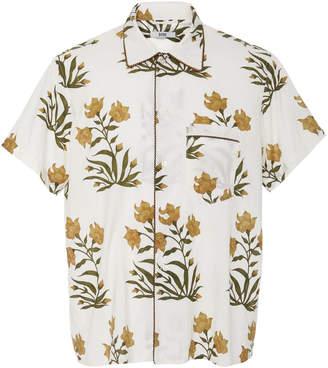Jaipur BODE Floral-Print Cotton Bowling Shirt