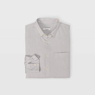 Club Monaco Knit Stripe Button-Down