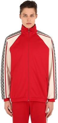Gucci Tech Jersey Casual Jacket