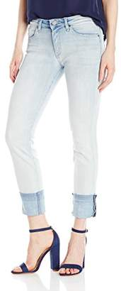 William Rast Women's Willliam Slim Straight Jean