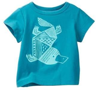 Tea Collection Platypus Graphic Tee (Baby Boys)
