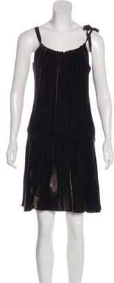 Vince Velvet Mini Dress