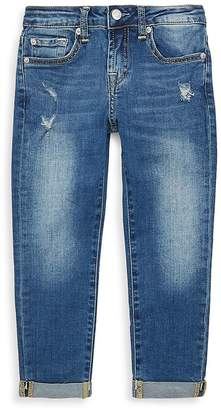 7 For All Mankind Girl's Distressed Denim