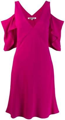 McQ cold-shoulder dress