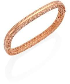 Roberto Coin Princess 18K Rose Gold Bangle Bracelet
