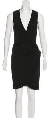 Azzaro Sleeveless Midi Dress
