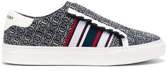 Tory Burch patterned low top sneakers